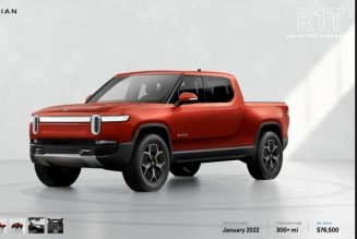 Build Your Own Electric Rivian R1S SUV and R1T Pickup—the Configurators Are Now Live