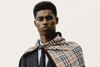 Burberry Teams Up with Marcus Rashford to Support Youth Charities in London and Manchester