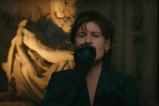 """Christine and the Queens Performs """"People, I've been sad"""" on Corden: Watch"""