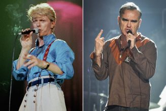 David Bowie and Morrissey's Cover of T. Rex Is Coming to Vinyl