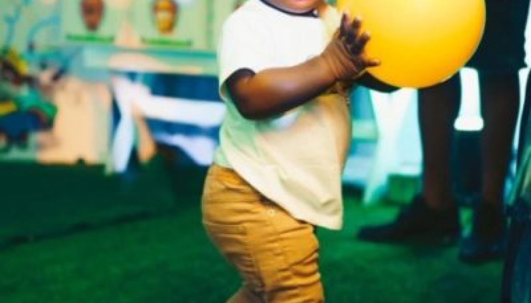 Davido shares new photo of his son Ifeanyi