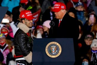 Donald Trump Introduces Lil Pump as 'Lil Pimp' At Pre-Election Rally