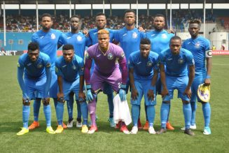Enyimba players, officials undergo coronavirus test ahead CAF Champions League trip
