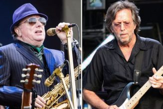 "Eric Clapton Teams with Van Morrison for Anti-Lockdown Protest Song ""Stand and Deliver"""