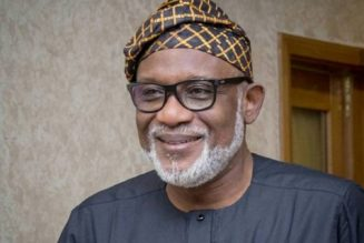 Governor Akeredolu: We are in a serious security crisis