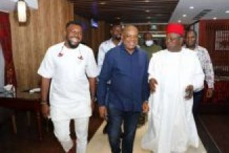 Governor Umahi, Senator Kalu meet in Abuja