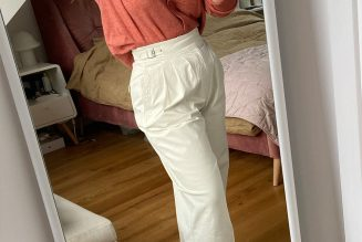 I'm Short and Hourglass-Figured—These £75 Trousers Are the Perfect Fit