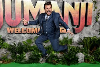 Jack Black Gives Wet and Wild Performance of 'WAP'
