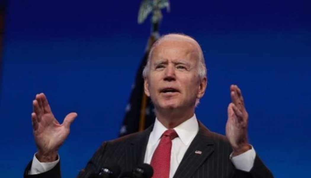 Joe Biden urges Americans to be safe during holiday, fight coronavirus pandemic
