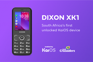 KaiOS Partners with Cash Crusaders to Launch the DIXON XK1 in South Africa
