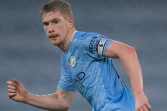 Kevin De Bruyne reveals Manchester City contract talks