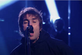 Liam Gallagher Performs Festive New Song 'All You're Dreaming Of' on The Jonathan Ross Show