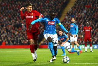Liverpool not keen on a £70million move for Kalidou Koulibaly