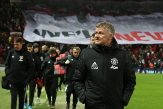 Ole Gunnar Solskjaer reacts to Manchester United's poor home form this season