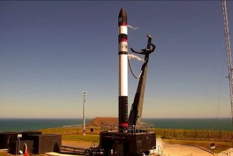 Rocket Lab successfully brings its rocket back to Earth underneath a parachute