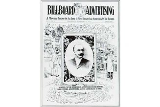 The First Billboard: All That Was 'New, Bright and Interesting On the Boards'