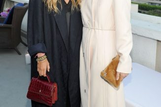 The Olsen Twins Were Way Ahead of the Curve on This Coat Trend
