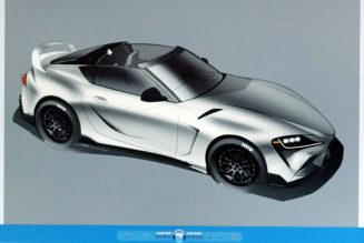 Toyota GR Supra Sport Top Concept Gets a MkIV Supra–Style Targa Top