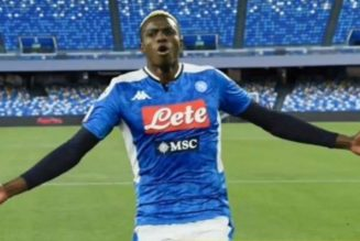 Victor Osimhen grabs winning goal for Napoli