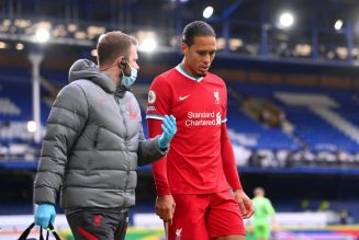 Virgil van Dijk resumes light training but Liverpool fans cannot be optimistic just yet