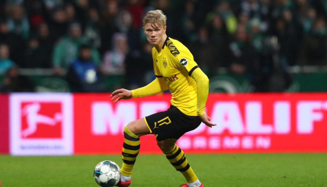 Barcelona Join Race for Erling Braut Haaland