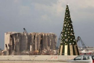 Beirut seeks Christmas cheer after devastating year