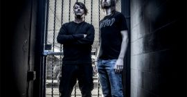 BRAVE THE COLD Feat. NAPALM DEATH's MITCH HARRIS And MEGADETH's DIRK VERBEUREN: 'Apparatus' Music Video