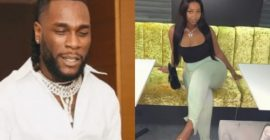 Burna Boy has been cheating on Stefflon Don with this lady