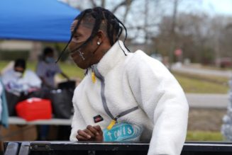 Donate Mode: Travis Scott Hosts Holiday Toy Drive In Houston