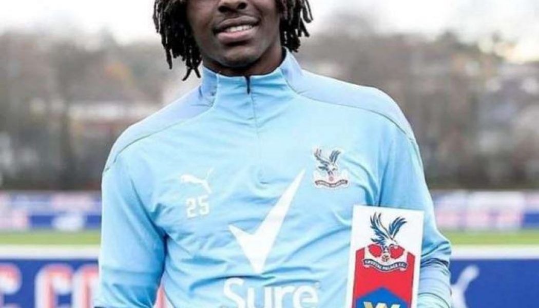 Eberechi Eze named Crystal Palace Player of the Month