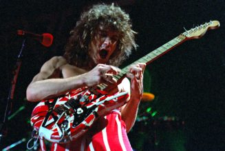 Eddie Van Halen's Iconic Guitars Sell for $422,000 at Legend-Studded Auction