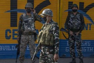India arrests 75 in Kashmir after local elections