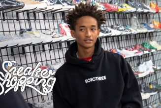 Jaden Smith Donates 300 Pairs of Kicks on 'Sneaker Shopping With Complex'