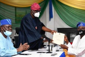 Lagos governor inaugurates new LG service commission members