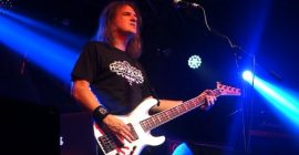 MEGADETH's DAVID ELLEFSON On Why He Switched To Playing With A Pick: 'It Was Literally A Survival Tactic'