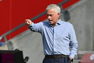 Mourinho's 15-word reaction to uncertainty surrounding Spurs v Fulham clash