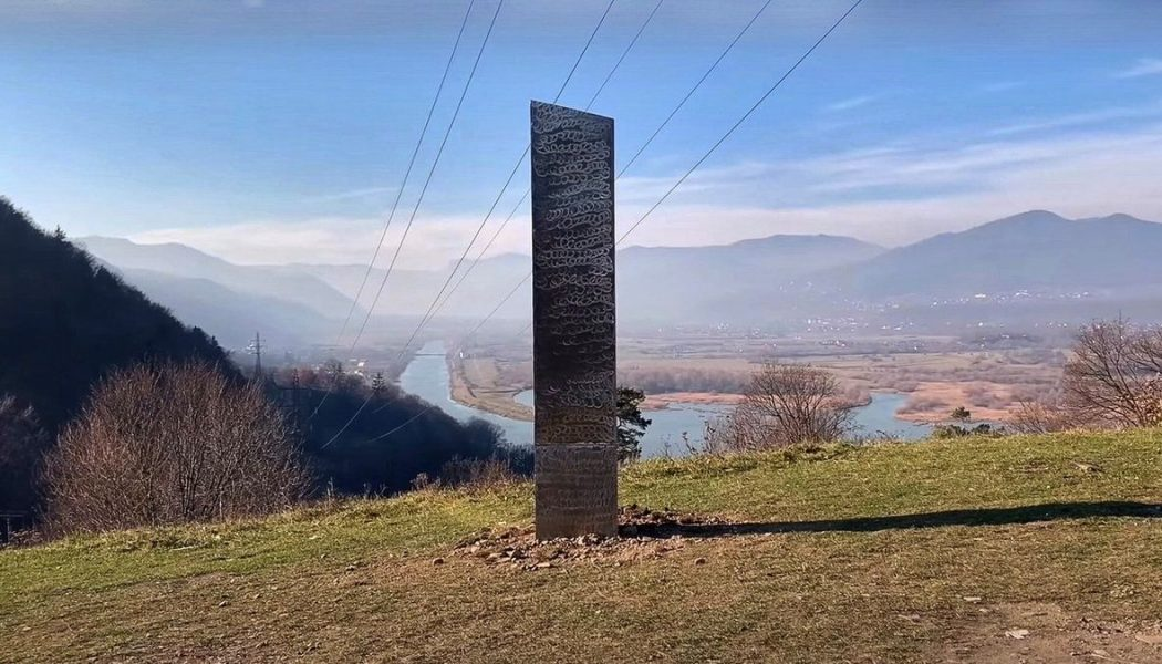 Mysterious 2001-Like Monolith Reappears In Romania