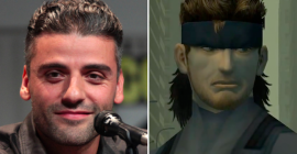 Oscar Isaac Cast as Solid Snake in Metal Gear Solid Movie