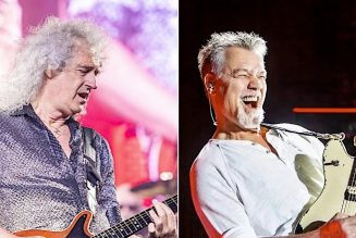 Queen's Brian May Recalls Recording Sci-Fi EP with Eddie Van Halen