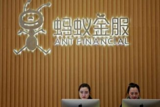Report: Jack Ma's Ant Group considers overhaul due to regulatory pressure