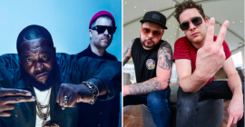 "Run the Jewels Team with Royal Blood for ""The Ground Below (Royal Jewels Mix)"": Stream"