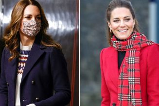 The Duchess of Cambridge Brought Out Her Most Festive Outfits For the Royal Train Tour