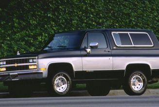 The History of the Rugged, Full-Size Chevrolet K5 Blazer
