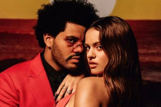 """The Weeknd Releases """"Blinding Lights"""" Remix with Rosalía: Stream"""