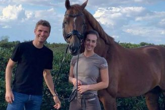 Thomas Muller and wife venture into horse sperm business