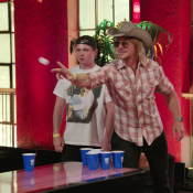 Watch Post Malone Smoke Diplo in Beer Pong