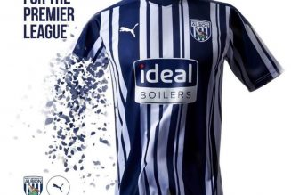 West Brom 2020/21 Home, Away and Third Kits