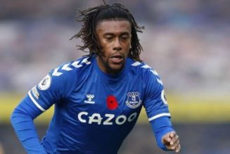 Alex Iwobi in action as Everton bow to Newcastle United