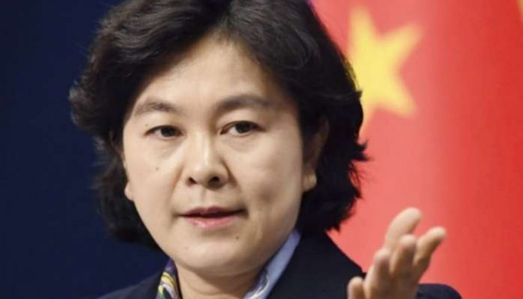 China to sanction U.S. officials for 'nasty' behaviour over Taiwan