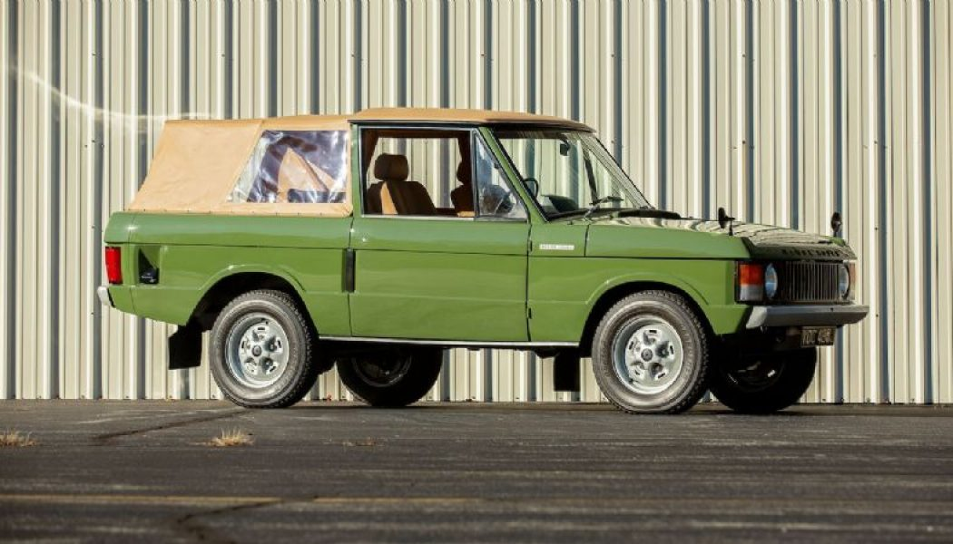 Classic 1971 Range Rover SUV Is Made Even Better By Way Of Less Roof